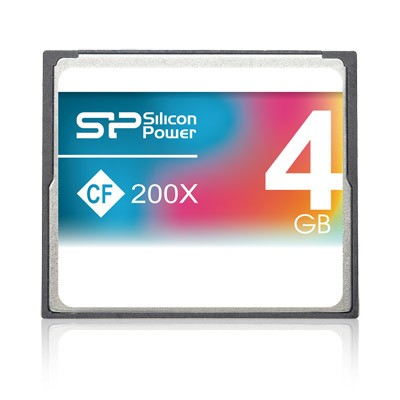 Silicon Power CF 4Gb (200x)