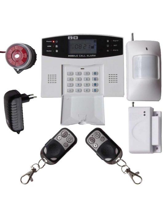 VIP-606C vezeték nélküli GSM/SMS lakásriasztó szett