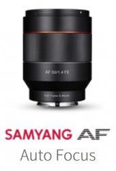 Samyang AF objektív