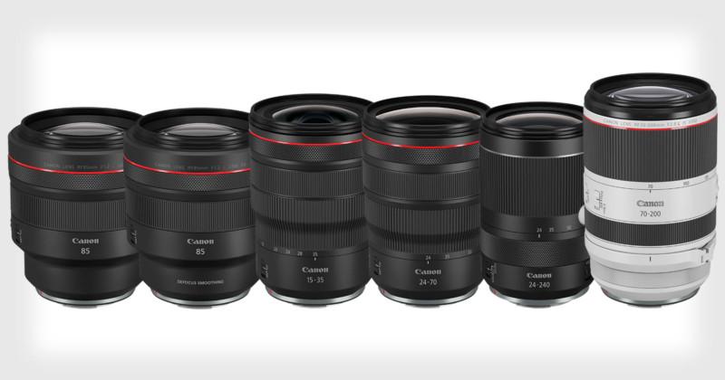 Canon NEW 6x RF Lens