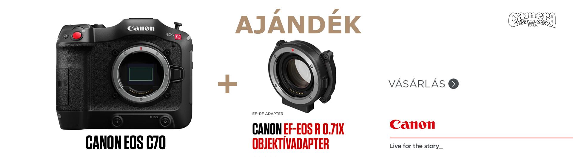 Canon EOS C70 akció